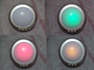 Badlampje Kleuren