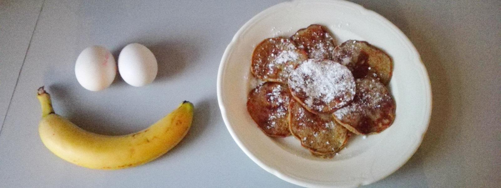 Bananen Pancakes Header
