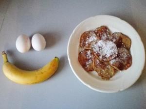 Bananen Pancakes af