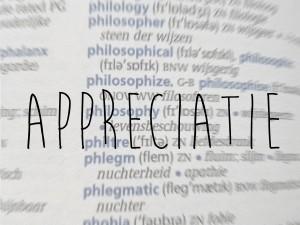 Appreciatie