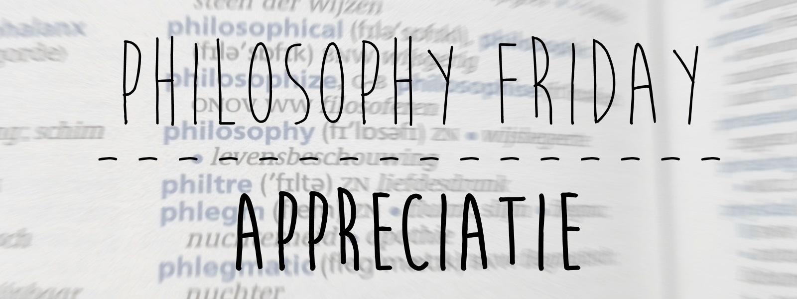 Appreciatie Header